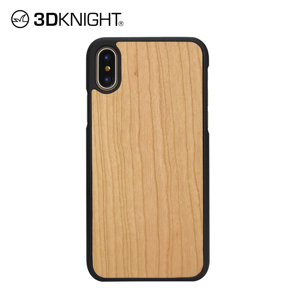 big sale bfc5d af167 100% cherry wooden phone case with no cover edges for the IphoneX ...
